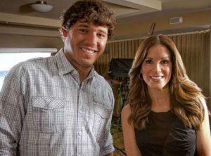 Sam Ryan with her husband, Jeff Ryan