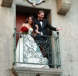 Trisha Hershberger wishes fourth marriage anniversary to her husband, Nate Parker
