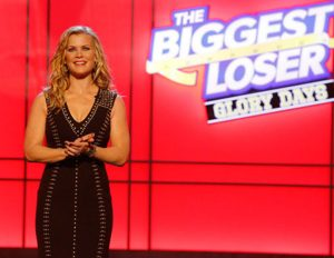 Alison Sweeney as the host of 'The Biggest Loser'