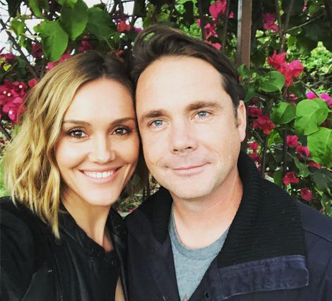 Erinn Hayes and her husband