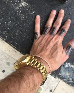 Dee Caspary's 7/7/17 Tattoo.