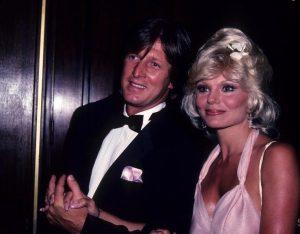 Elisa with her second husband Burt.
