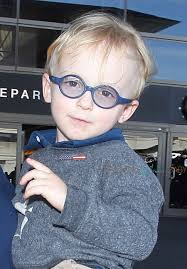 Jack Pratt looks cute in a baby goggles.