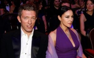Monica Bellucci with her ex-husband