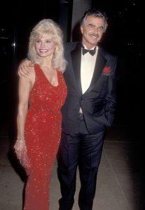 Loni with her third husband Burt.