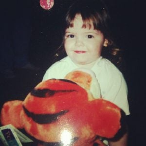 Miranda May in her early years