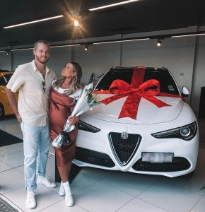 Skye received a car from her boyfriend Lachlan
