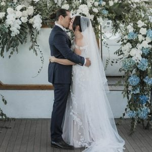 Chloe and Sebastian click the picture during their marriage