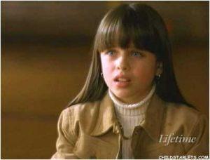Amanda Jane Tilson at early age.