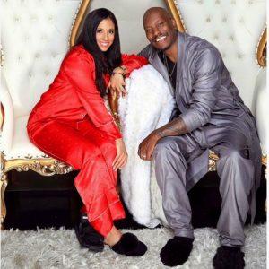 Samantha wished Happy Birthday to her husband Tyrese