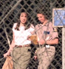 Amy Fisher coming out of prison after 7 years.