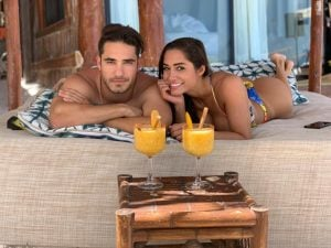 Bruna and Aleksey on spending their summer vacation