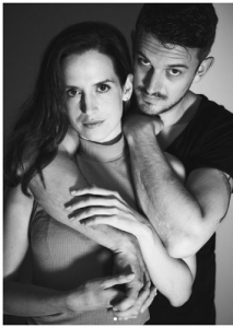 Kimberly with her partner- Ian Macmillan.