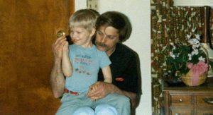 Brad Keselowski with his dad, Bob Keselowski.