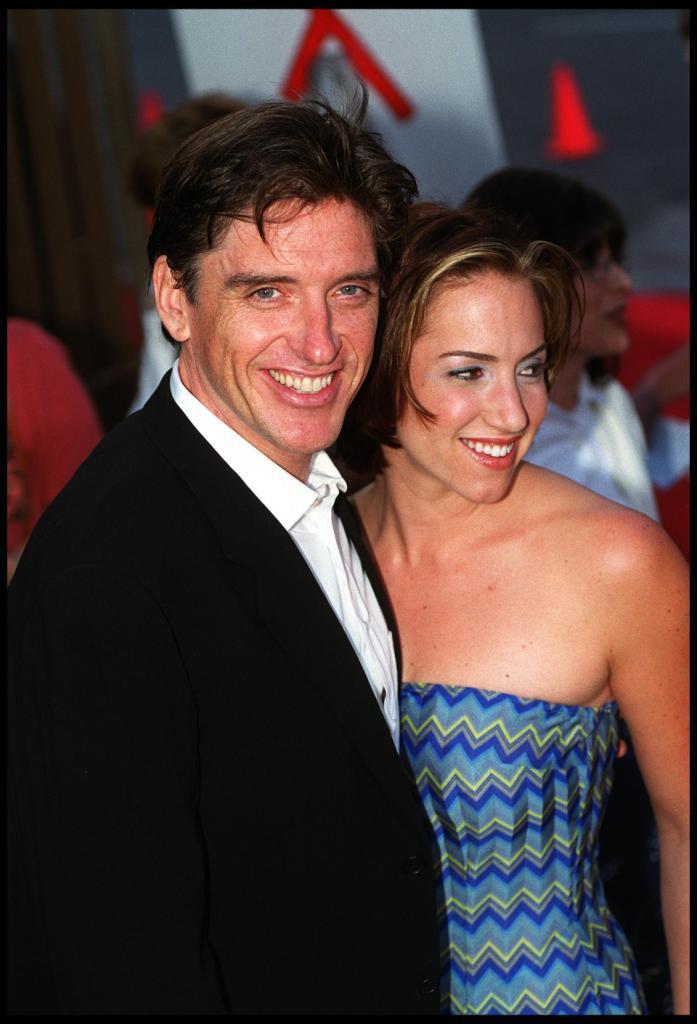 Sascha Ferguson and her former partner Criag
