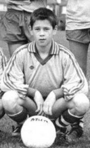 His father and uncle were a professional footballer.