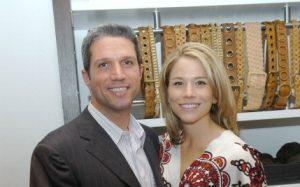 Megan with her ex-husband, Chris Colarossi.