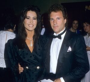 Rachel McLish with her husband, Ron Samuels.