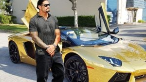 He has net worth of $12 million.