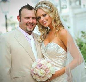 Rachael Biester and Paul Teutul Jr. marriage picture. Image Source: Famebytes
