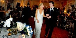Megyn and Douglas wedding picture.