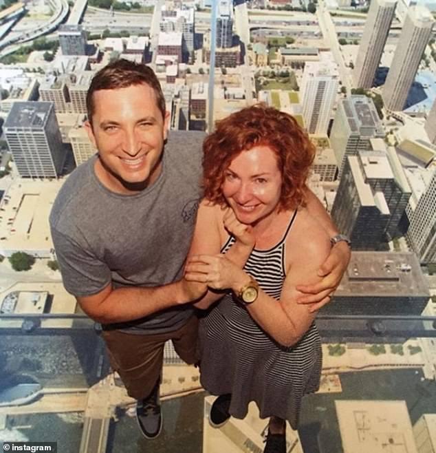 Tim Mynett and his ex-wife