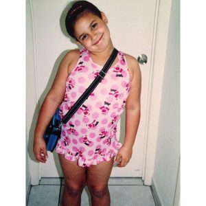 Natascha took a picture on her early years