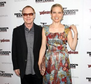 Bridget with his husband Danny in an event.
