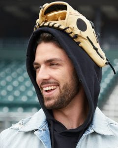 Dansby took a picture inside a stadium