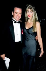 Brynn with her husband, Phil Hartman before death.