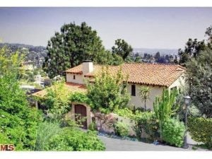 Bryce and David sold their house in Hollywood Hill at price $2.445 million.