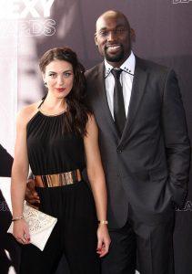 Chidi with his rumored girlfriend, Amber Ardieta.