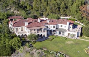 Ayda and her husband house in Beverly Hills