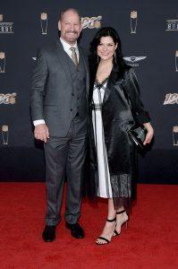 Veronica Stigeler with her husband, Bill Cowher.