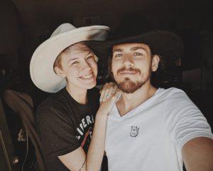 Jon with her new girlfriend, Brit.