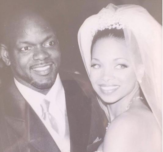 Patricia Southall and Emmitt on their wedding