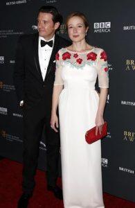 Jennifer and his husband attending an event