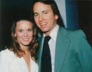 John took a picture with his first wife Nancy