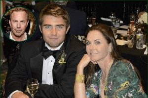 Liam Costner with his mother, Briget enjoying his life.
