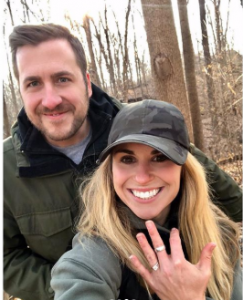 Lara announced her engagement with her long time boyfriend