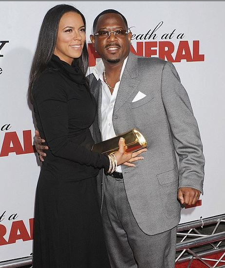 Martin Lawrence split from his wife Shamicka