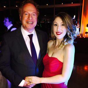 Richard with his current wife, Anastasia Elfman.