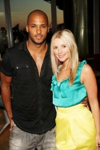 Rickey took a picture with her ex girlfriend Carley during an event