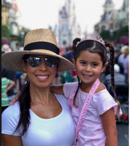 Veronica with her daughter at Happy National Daughters Day!