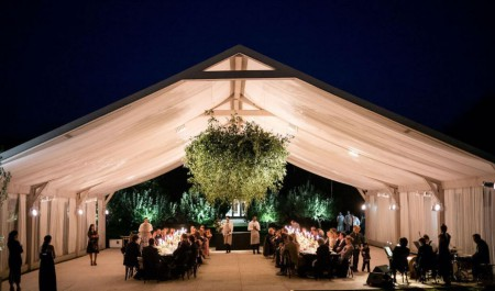 The Glee co-creater and his wife Paltrow's wedding venue