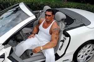 Dave Bautista car collection.