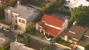Pop home in Hollywood Hills where he was found death.