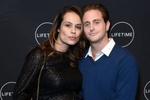Cameron with his girlfriend, Viviane Thibes.