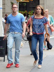 Viviane with her boyfriend, Cameron Douglas.