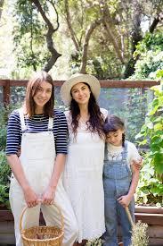 Shiva Rose and her children